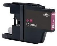 Kompatibilní inkoust s Brother LC-1240M červený