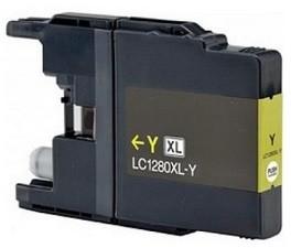 Kompatibilní inkoust s Brother LC-1280Y žlutý