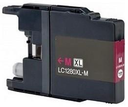 Kompatibilní inkoust s Brother LC-1280M červený