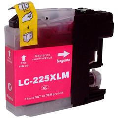 Kompatibilní inkoust s Brother LC-225XL červený