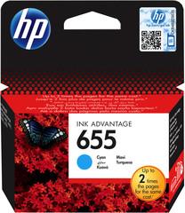 Originální inkoust HP CZ110AE (HP655) azurový