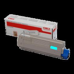 Originální toner OKI 42127407 modrý XL