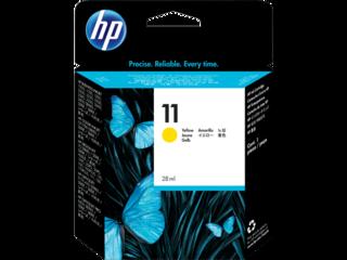 Originální inkoust HP C4838A (HP11) žlutý