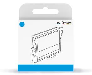 Kompatibilní inkoust s Epson T02W2 (502XL) azurový